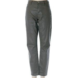 Banana Republic Gray Coated Jeans Womens Size 28